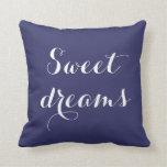 Almohada de tiro de los sueños dulces