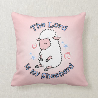 Almohada de tiro de señor Is My Shepherd