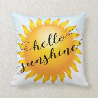 Almohada de tiro decorativa de la sol moderna del