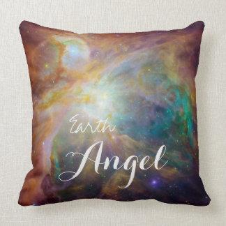 Almohada de tiro decorativa del ángel de la tierra cojín decorativo
