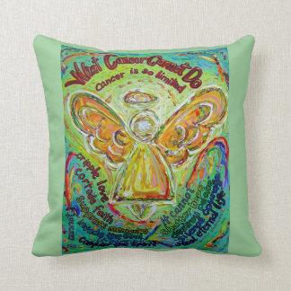 Almohada de tiro decorativa del ángel del cáncer