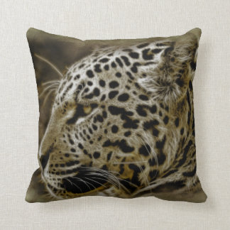 Almohada de tiro decorativa del animal salvaje de