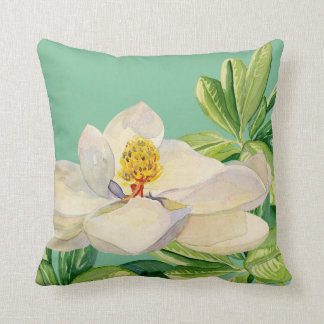 Almohada de tiro decorativa del arte floral de mod