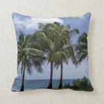 Almohada de tiro decorativa tropical de las palmer