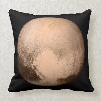 Almohada de tiro del algodón de la foto de Plutón