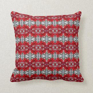 Almohada de tiro del algodón de la hoja de arce cojín decorativo