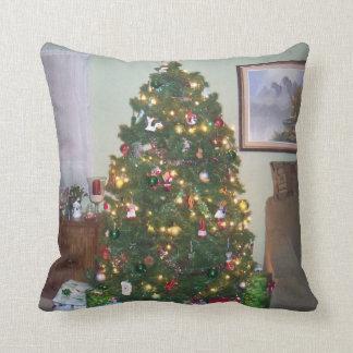 Almohada de tiro del árbol de navidad cojín decorativo