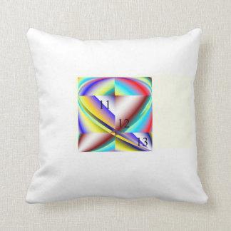 """Almohada de tiro del arco iris 111213 20"""" x 20"""""""