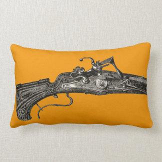 Almohada de tiro del arma del rifle del mosquete cojín lumbar