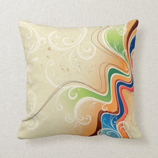 Almohada de tiro del arte abstracto