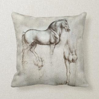 Almohada de tiro del caballo de da Vinci