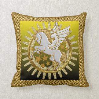 Almohada de tiro del caballo de vuelo de Pegasi