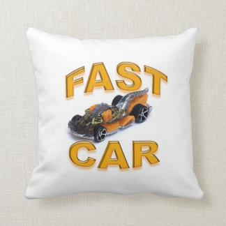 Almohada de tiro del coche rápido