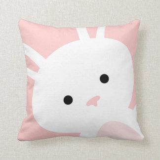 Almohada de tiro del cuarto de niños del conejito