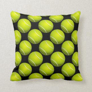 Almohada de tiro del diseño de la pelota de tenis cojín decorativo