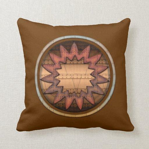 Almohada de tiro del diseño del medallón