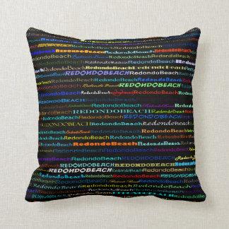 Almohada de tiro del diseño I del texto de Redondo Cojín Decorativo
