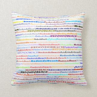 Almohada de tiro del diseño II del texto de Cojín Decorativo