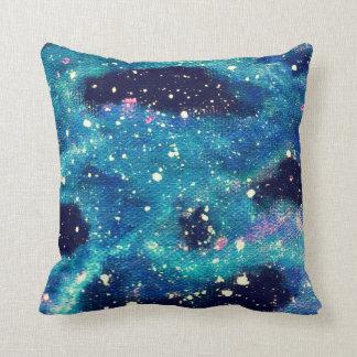 Almohada de tiro del espacio de la nebulosa del cojín decorativo