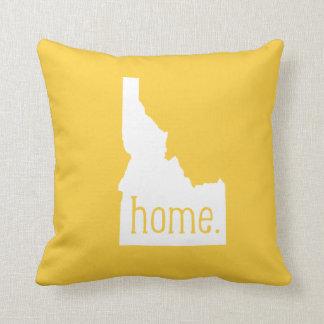 Almohada de tiro del estado de origen de Idaho
