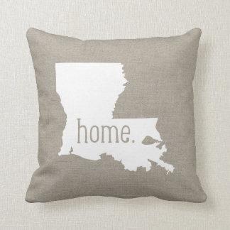 Almohada de tiro del estado de origen de Luisiana
