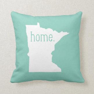 Almohada de tiro del estado de origen de Minnesota