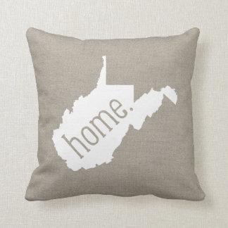 Almohada de tiro del estado de origen de Virginia