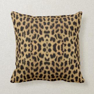 Almohada de tiro del estampado leopardo cojín decorativo