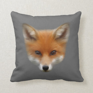 Almohada de tiro del Fox rojo Cub