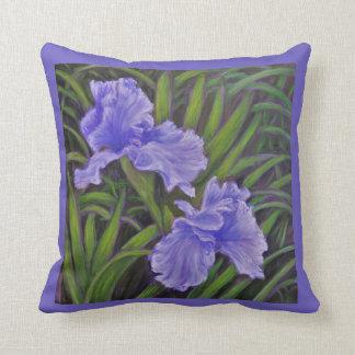 Almohada de tiro del iris cojín decorativo