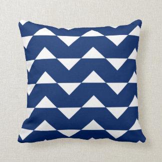 Almohada de tiro del modelo de Sparre del azul