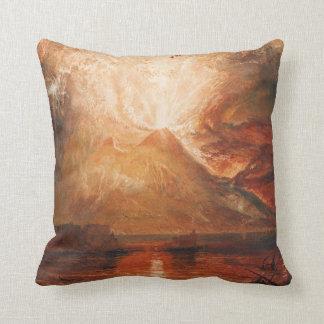 Almohada de tiro del monte Vesubio Cojín Decorativo