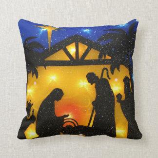 Almohada de tiro del navidad/bebé Jesús