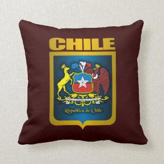 """""""Almohada de tiro del oro de Chile"""" Cojín"""