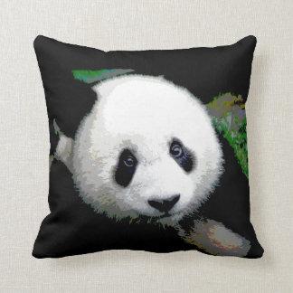Almohada de tiro del oso de panda