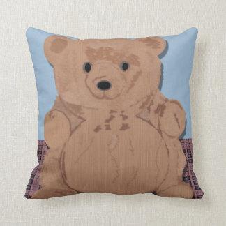 Almohada de tiro del oso de Wes T Cojín Decorativo