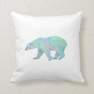 Almohada de tiro del oso polar de Geode Cojín Decorativo