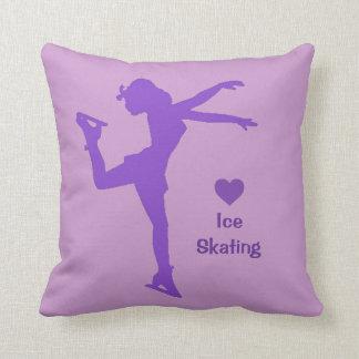 Almohada de tiro del patinaje de hielo del ♥