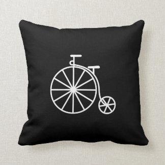Almohada de tiro del pictograma de la bicicleta de