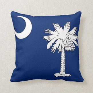 Almohada de tiro del poliéster de Carolina del Sur