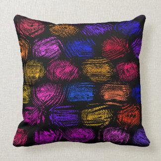 Almohada de tiro del poliéster del multicolor cojín decorativo