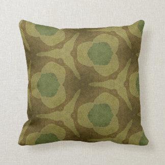 Almohada de tiro del poliéster - verde/modelo