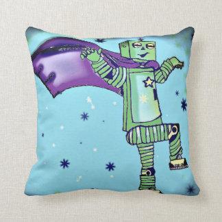 Almohada de tiro del robot del super héroe de la cojín decorativo