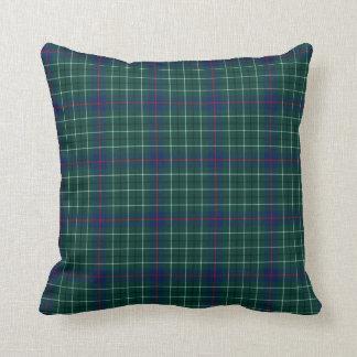Almohada de tiro del tartán de Duncan del clan