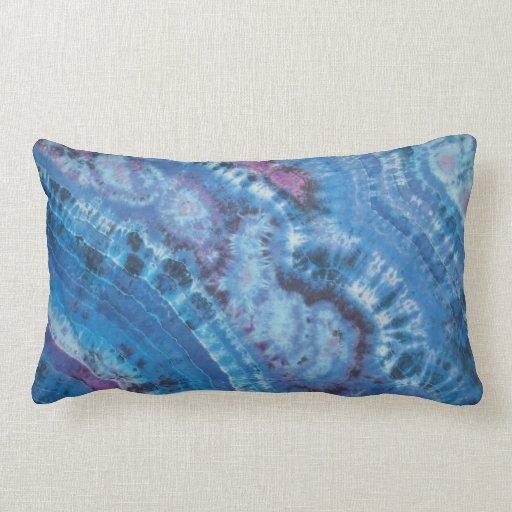Almohada de tiro del teñido anudado del espacio