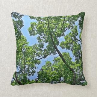 Almohada de tiro del toldo de árbol