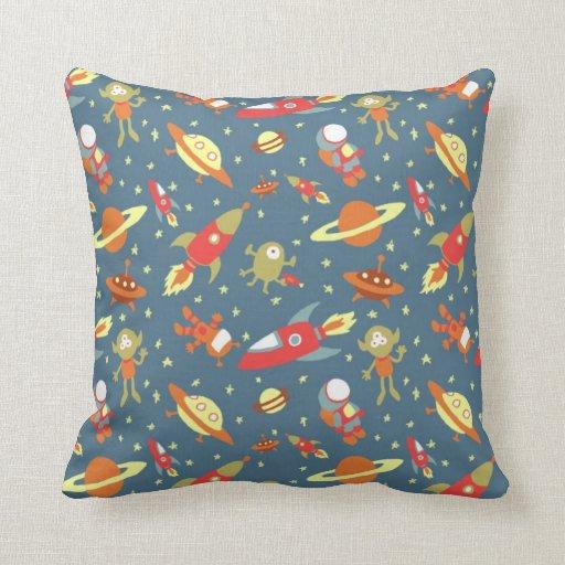 Almohada de tiro del viaje espacial