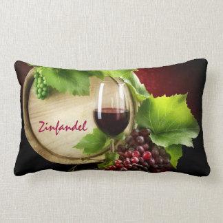 Almohada de tiro del vino de Zinfandel