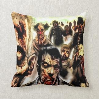 Almohada de tiro del zombi