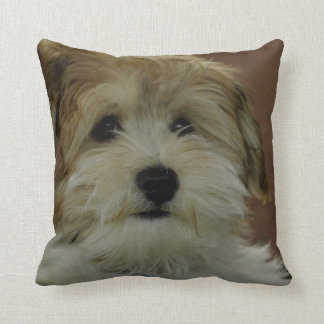 Almohada de tiro demasiado linda del perrito cojín decorativo